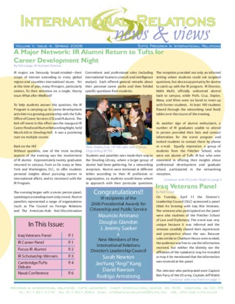 PDF | International Relations, News and Views, Spring | ID