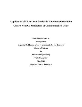 PDF | Application of Ultra-Local Models in Automatic